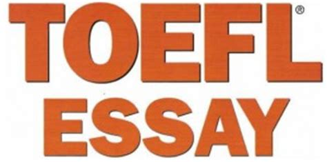 Toefl ibt essay templates